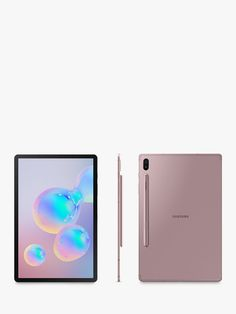 Buy Rose Blush Samsung Galaxy Tab Tablet with S Pen, Android, RAM, Wi-Fi, from our View All Tablets range at John Lewis & Partners. Samsung Galaxy Tablet, Samsung Tabs, Notebooks, Nintendo Switch Accessories, Technology Hacks, New Tablets, Electronics Gadgets, Ipad Pro, Wi Fi