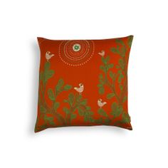 GOND ART CUSHION COVER  Buy Here - http://madinindia.in/collections/cushion-covers/products/gond-art-cushion-cover MRP - Rs 1200