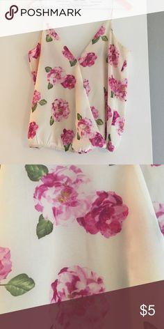 Forever 21 Floral Blouse size S Forever 21 Floral Blouse size S. Bubble bottom Forever 21 Tops Blouses