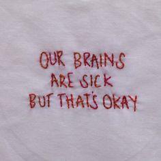 embroidered lyrics