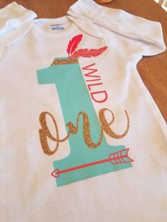 Hey, I found this really awesome Etsy listing at https://www.etsy.com/listing/489581690/baby-girl-first-birthday-wild-one-onesie
