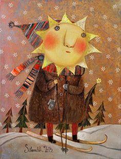 Pinzellades al món: Sol d'estiu / Sol d'hivern / Sol de verano, Sol de invierno / Summer sun, winter sun