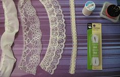 DIY Garter Tutorial with Victorian Lace As I alluded to in my last post, I decided to create a DIY garter to use for the garter. Garter Toss, Lace Garter, Garter Belts, Hitching Post, Diy Wedding, Wedding Ideas, Bella Wedding, Gothic Wedding, Wedding Stuff