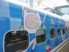 Cartoon Network Takes Over Taiwan's Trains