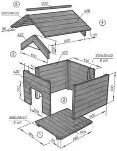 Dog owners have to consider several factors when buying or building a house for . - Dog owners have to consider several factors when buying or building a house for their pets. Pallet Dog House, Dog House Plans, Dyi Dog House, Wooden Dog House, Build A Dog House, Cool Dog Houses, Play Houses, Woodworking Plans, Woodworking Projects