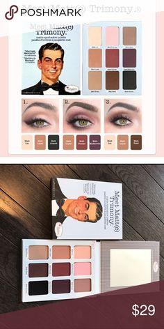 ⏰LAST ONE⏰The Balm Eyeshadow Palette Meet Matt(e) Trimony Palette. Neutral Eyeshadow palette Sephora Makeup Eyeshadow
