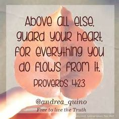 proverbs 4:23 - - Yahoo Image Search Results