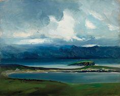 West Coast of Ireland, 1913, Robert Henri. American Ashcan School Painter (1865 - 1929)