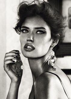 Steamy Hotel Room Shoots : Bianca Balti for Dolce & Gabbana Jewelry 2011
