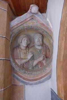 Rundmedaillon aus dem in der Kirche Greith bei Neumarkt Kirchen, Painting, Art, Art Background, Painting Art, Kunst, Paintings, Performing Arts, Painted Canvas