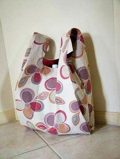DIY: fabric shopping bag