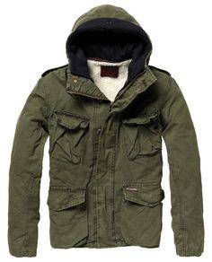 Half long army parka - Jackets - Scotch & Soda Online Shop