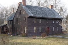 Tristram Coffin Jr. House, Newbury, Massachusetts Merrimack River where Tristram Coffin's ferry was located.