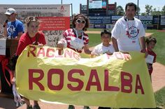 Team Racing for Rosalba won our best team banner at the 2014 Walk!