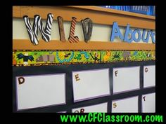 Word Wall Ideas (Wild About Words)