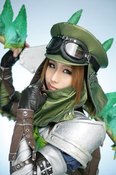 cosplayer - TASHA - Monster Hunter, if only I had the money to make something like it