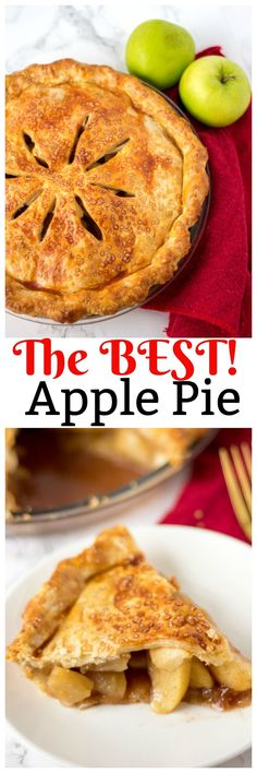 Homemade Apple Pie. This is the best Homemade Apple Pie recipe that you are going to find! Easy to make, has amazing pie crust and is the perfect apple pie!