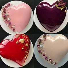 Cake Icing, Cupcake Cakes, Beautiful Cakes, Amazing Cakes, Cake Lettering, Glaze For Cake, Heart Cakes, Engagement Cakes, Cake Makers