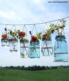 Hook Top Flower Hangers DIY Mason Jar Lids, Wedding Decorations Hanging Flower Frog Lids, No Jars
