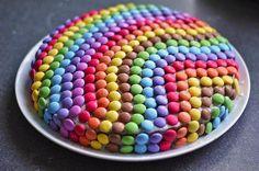 Rainbows on my cake!