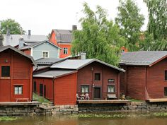 Porvoo - Suomi - Finland - Giugu Finland, Cabin, Photo And Video, House Styles, Places, Home Decor, Decoration Home, Room Decor, Cottage