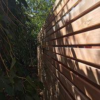 Clôture en chêne   Oak fence  Clôture Boucher, 450-516-0264