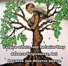 Forgiveness is not for the other person, it is for you. #forgive #love #spirituality