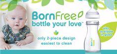 These baby bottles are awesome! Check them out! #baby #babyregistry