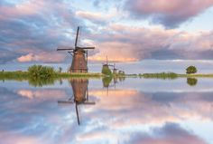 Kinderdijk reflections