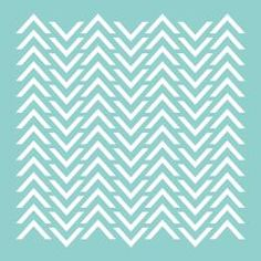 Template 12 X12 - Chevron | Overstock.com Shopping - Big Discounts on Templates & Stencils