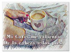 Buenos días, si hay que trabajar o descansar, que un café sea tu mejor compañía. Un lindo sábado para todos