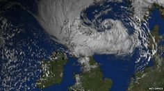 'UK weather still affected by ex-hurricane Bertha'