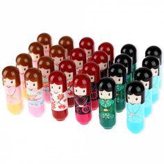 GET $50 NOW | Join RoseGal: Get YOUR $50 NOW!https://www.rosegal.com/make-up/24pcs-beautiful-cartoon-kimono-doll-lip-balm-moisturizing-lipstick-516632.html?seid=8344645rg516632