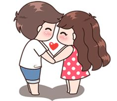 Boobib Cute Couples Vol.5 – LINE stickers | LINE STORE