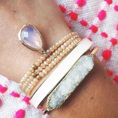 #Repost @fitandfassionate  A great stack that goes with everything! So simple and so pretty