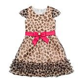 Rare Editions Girls Dress, Girls Leopard Dress