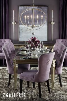 Dine in style. Save 15% on dining furniture and tableware  in stores and online at zgallerie.com with promo code DINE15. Through 9/28/2015.