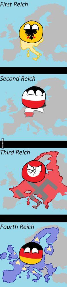 """Yay, Germany!"" by Kebab Hyvlaren https://www.reddit.com/r/polandball/comments/2kl7vw/yay_germany/ #polandball #countryball"