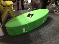 Funky classroom furniture to power up your device.