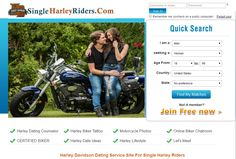 SingleHarleyRiders.com  is a unique Harley Davidson Dating site.  It focus on helping Harley Davidson singles who are looking to share their love of Harley motorcycles with that special someone
