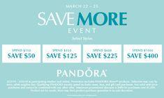 🌼🌷🌈 #SPRING into savings!! Starting TOMORROW: save on select PANDORA styles through Sunday, March 25th at Atlanta West Jewelry 💍 770-489-8600 AtlantaWestJewelry.com  #PANDORA #AtlantaWestJewelry #SAVEmore #PANDORAstyle #Jewelry #Sale