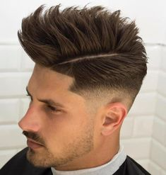 Side-Parted Taper Fade