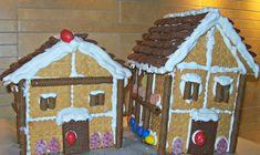 Εύκολη συνταγή για Χριστουγεννιάτικα σπιτάκια από πτι μπερ!   ediva.gr Christmas Sweets, Xmas, Gingerbread, Cookies, Desserts, Food, Master Chef, Crafting, Crack Crackers