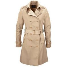 $79, Tan Trenchcoat: Melrose Trench Coat By. Sold by Look Again. Click for more info: http://lookastic.com/women/shop_items/75456/redirect