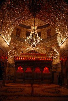 Inside shrine of Imam Hussain [a.s.] in Karbala, Iraq.
