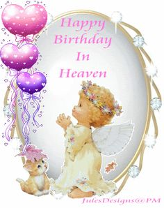 birthday in heaven quotes to post on facebook | Robin Lea Middlebrooks Memories