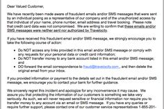 Popular travel websites warn Customers of Phishing scamSecurity Affairs