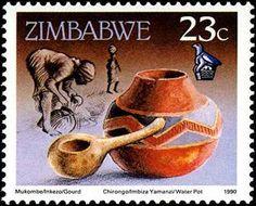 Billedresultat for zimbabwe stamps