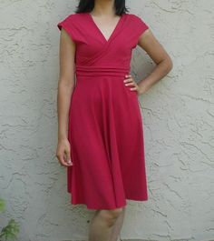 Paula Dress FREE Pattern by Daniela Gutierrez-Diaz