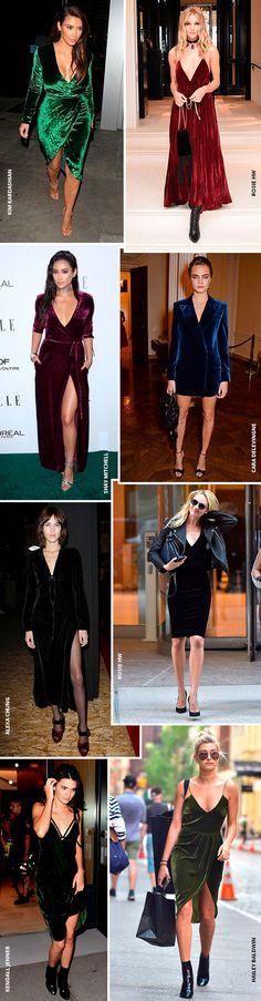 9 celebs te mostram como usar vestido de veludo